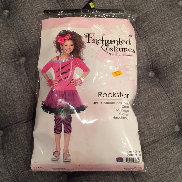 girls Rock Star Halloween costume  sc 1 st  Poshmark & Costumes | Girls Rock Star Halloween Costume | Poshmark